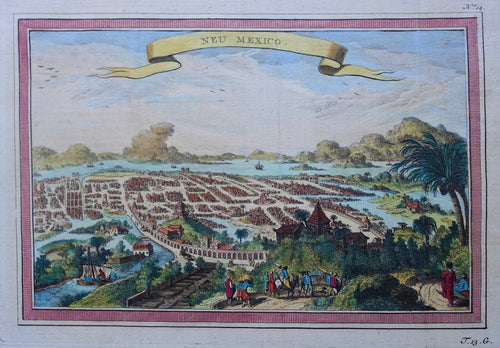 Mexico City - Arkstee & Merkus - ca 1751