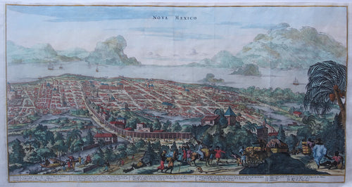 Mexico City - A Montanus - 1671