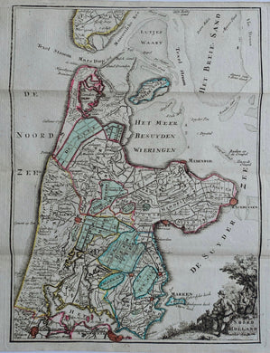 Holland Noord-Holland - H de Leth - 1740