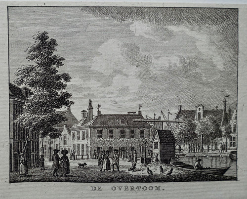 Amsterdam  Overtoom - KF Bendorp - 1793