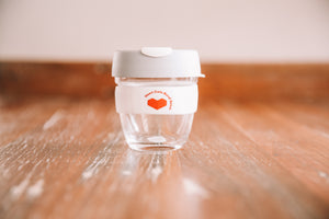 Heart Cafe Keep Cup