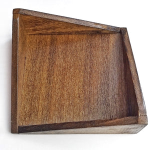 Modern Wooden Coaster Holder