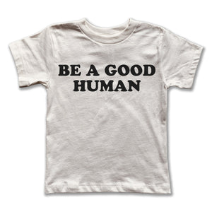 Be A Good Human Tee - Youth