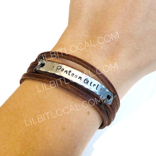 Shredded Leather Wraps