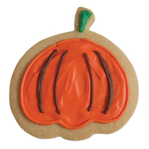 Cookie Cutter - Pumpkin w/recipe card