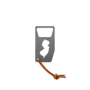 14 Gauge WI State Bottle Opener - Select a State!
