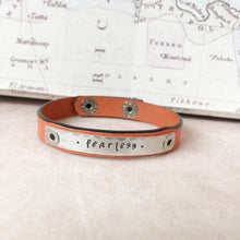 Stackable Leather Bracelets