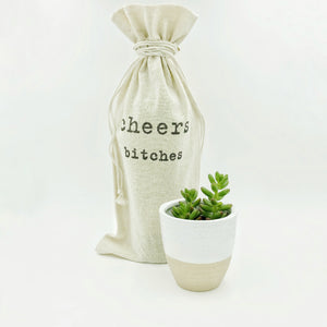 Snarky Wine Bottle Gift Bags - Unique Gifts - More Options!