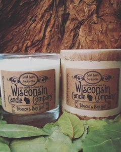 Wisconsin Soy Candle - 10 oz - Scent Options!
