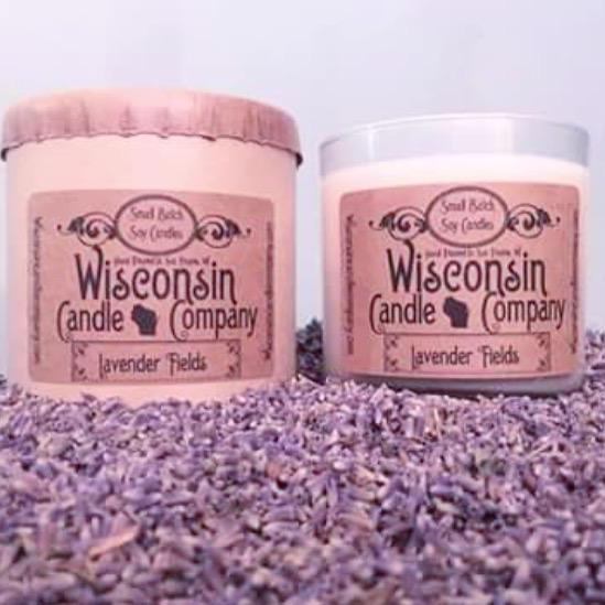 Wisconsin Soy Candle - 10 oz - Lavender