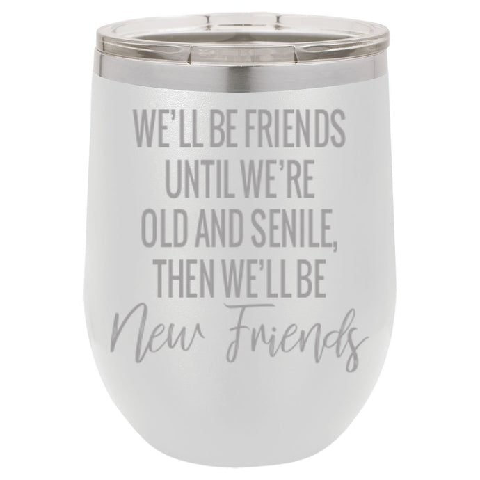Best Friends Mug & Drink Glass - 12 oz, multiple color options