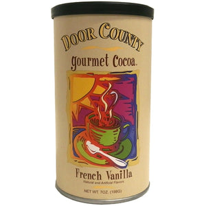 French Vanilla Hot Cocoa - 7oz Tin