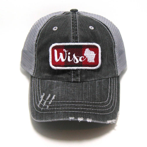 Patched Hat - Wisco Home