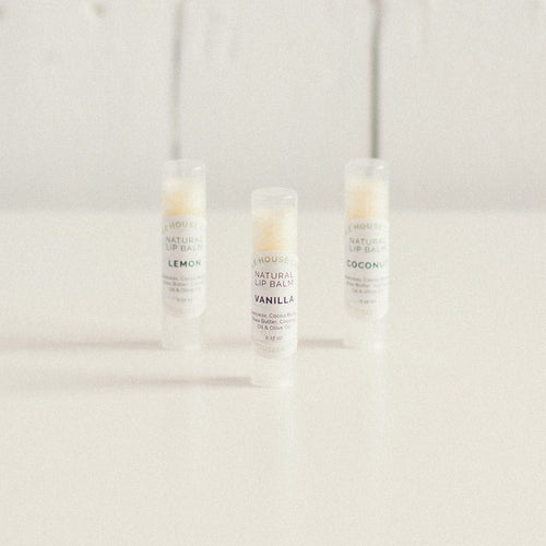 Lip Balm - all natural - Scent options!