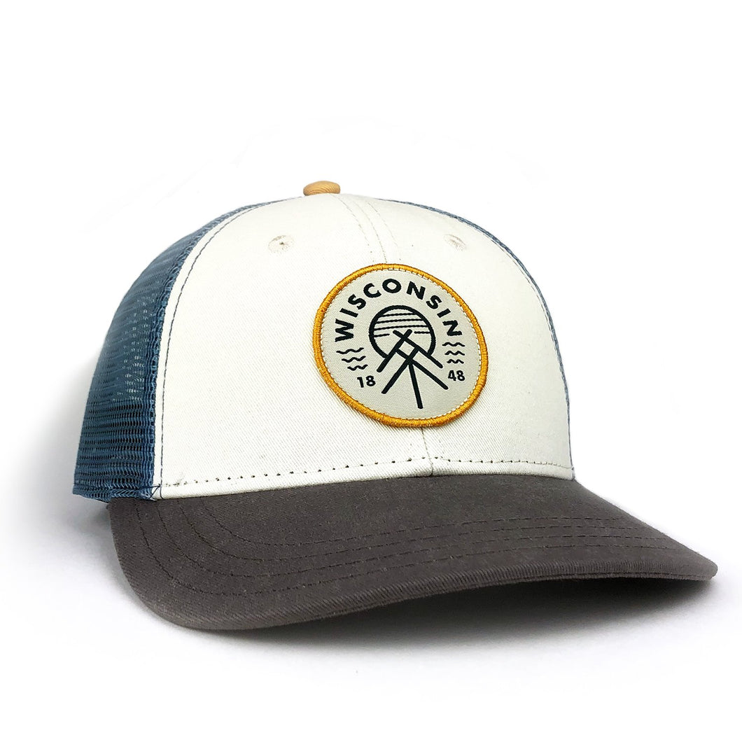 The Wisconsin Native Good Vibe Mesh Trucker Hat - GILTEE