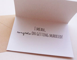 Funny - Love,Wedding & Anniversary - Cards