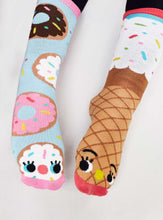 Donut & Ice Cream Mismatched Socks - Ages 1-3, Ages 4-8, Adult
