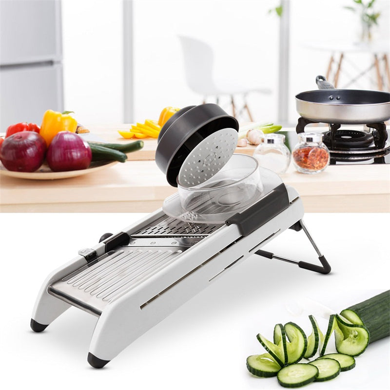 Multi-function vegetable slicer