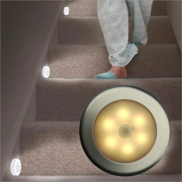 (50%OFF!) 6 LEDs Motion Sensor Night Light-BUY MORE SAVE MORE!