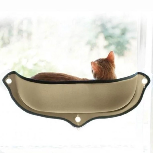Pet Ninja Window-Mounted Cat Bed