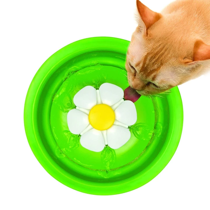 CAT FLOWER FOUNTAIN
