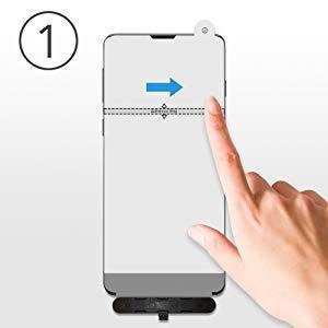 amFilm Elastic Skin Screen Protector for Samsung Galaxy S10 (2 Pack)