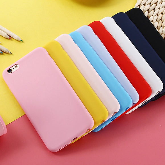 High Quality Minimalistic Matte iPhone Case