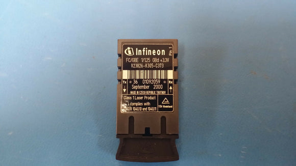 V23826-K305-C373 INFINEON TXRX MULT-MODE 850NM 1.3GBIT FIBER OPTICS TRANCEIVER