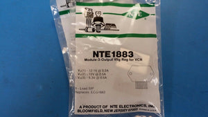 (1 PC) NTE1883, ECG1883, Module-3-Output, Voltage Regulator for VCR