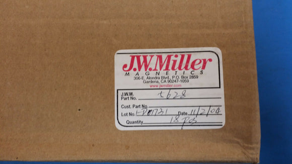 (2 PCS) 5628 JW MILLER Fixed Inductors 500uH 10%, Obsolete