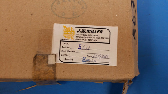 (2 PCS) 5632 JW MILLER Fixed Inductors 10mH 10%, Obsolete