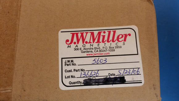 (3 PCS) 5603 JW MILLER Fixed Inductors 25uh 10%, Obsolete