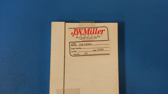 (10 PCS) 70F184AI JW MILLER RF Fixed Inductors 180uH 5%, Obsolete