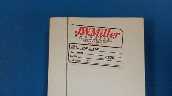 (10 PCS) 70F121AF JW MILLER RF Fixed Inductors 120 000uH 5%, Obsolete