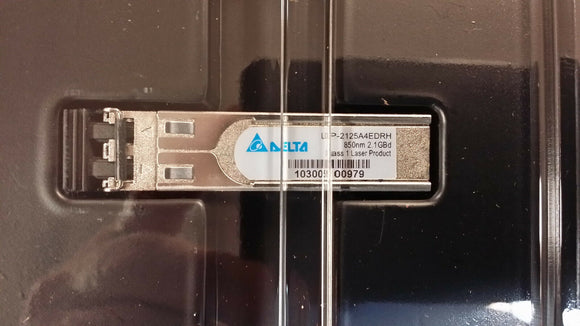 (1PC) LCP-2125A4EDRH DELTA MULTIMODE SFP FIBER CHANNEL TRANSCEIVER 850nm 2.1GBd