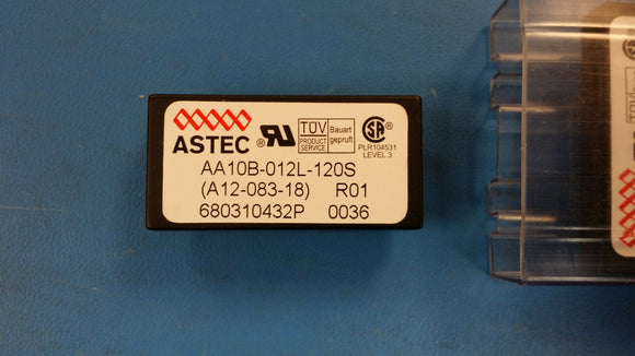 (1 PC) AA10B-012L-120S ASTEC 1-OUTPUT 10W DC-DC REG PWR SUPPLY MODULE