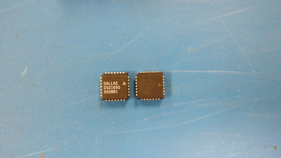 (10 PCS) DS2165Q DALLAS Audio DSPs 16/24/32kbps ADPCM Processor 28PLCC