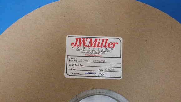 (50 PCS) 9250-333 JW MILLER RF Fixed Inductors 33uH 10%, Obsolete