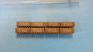 (1) JM38510/33901BEA IC 8 LINE TO 1 LINE MULTIPLEXER COMPLEMENTARY OUTPUT CDIP16