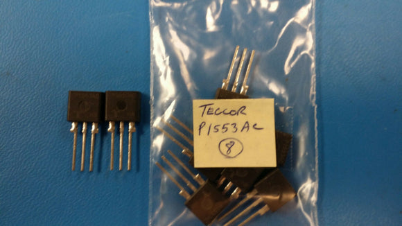 (2 PCS) P1553AC TECCOR Thyristor Surge Protection Devices 130V 50A 3-Pin TO-220