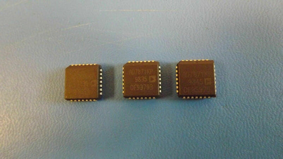 (1PC) AD7871KP Single ADC SAR 83ksps 14-bit Parallel/Serial 28-Pin PLCC