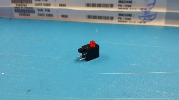 (50 PCS) LTL-4221NH129 LITE-ON Housing LED ThruHole 3mm Red ROHS