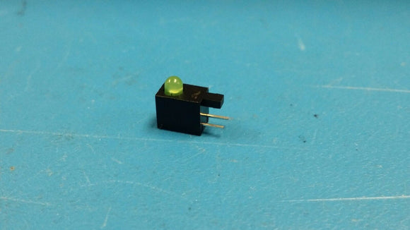 (50 PCS) LTL-4231NH129 LITE-ON HOUSING LED, 3MM, GREEN ROHS