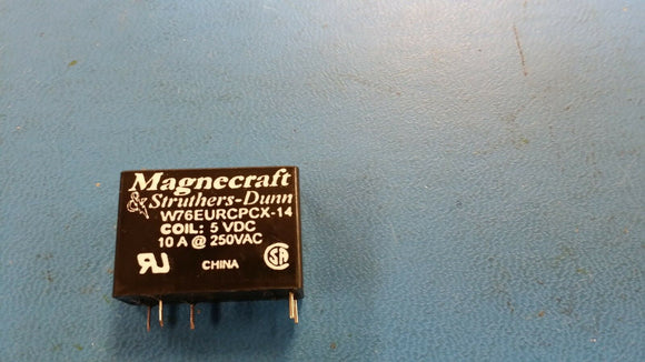 (1PC) W76EURCPCX-14, Low Signal Relay - PCB, Magnecraft