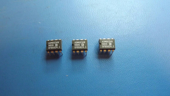 (5PCS) ADM663AN Standard Regulator Pos 1.3V to 16V5V 0.04A 8-Pin PDIP
