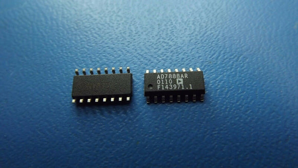 (1PC) AD7888AR ANALOG DEVICES ADC Single SAR 125ksps 12-bit Serial 16-Pin SOIC