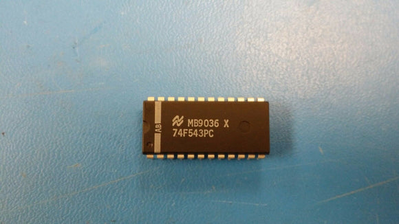 (1 PC) 74F543PC NSC 8-BIT REGISTERED TRANSCEIVER, TRUE OUTPUT (.600MIL) PDIP24