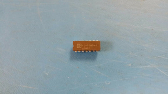 (1 PC) HA1-5195-5 HARRIS OP-AMP 10000uV OFFSET-MAX 150MHz BAND WIDTH CDIP14