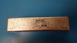 (1 PC) B84143-A25-R48 EPCOS 8 mO 25 A 3 Phase System Power Line Filter