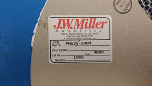 (10 PCS) PM63S-180M JW MILLER Fixed Power Inductor Shielded 18uH 20%